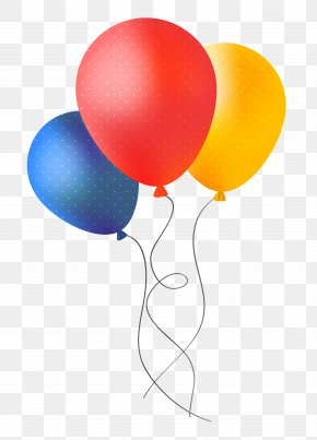 Party Balloons - Balloon Birthday Party PNG