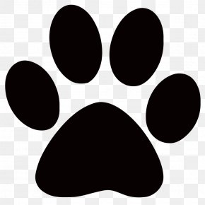Husky Paw Cliparts - Cat Dog Paw Printing Clip Art PNG