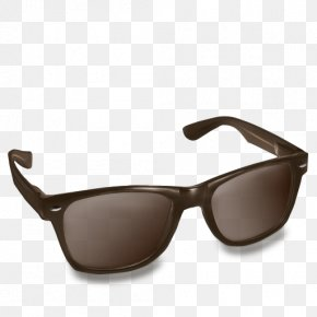 Sunglasses - Goggles Sunglasses Fastrack Brown PNG