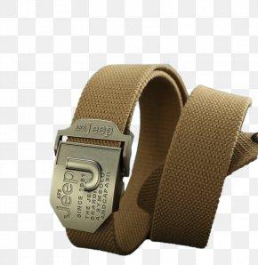 Men's Fashion Leisure Section Canvas Belt Belt - Belt Fashion Buckle PNG