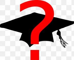 Cap - Square Academic Cap Hat Graduation Ceremony Clip Art PNG