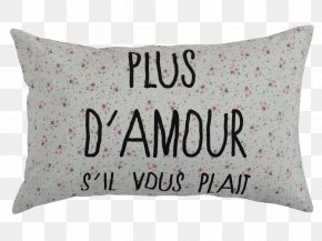 Pillow - Throw Pillows Cushion Textile Chenille Fabric PNG