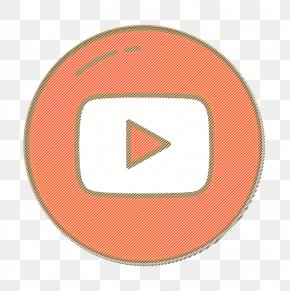 Peach Signage - Logo Icon Social Media Icon Youtube Icon PNG