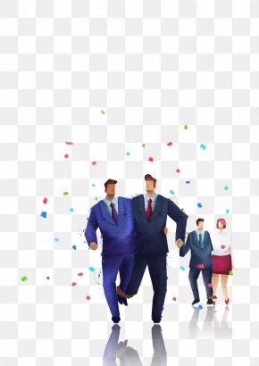 Business People Illustration,group - Marketing Business Illustration PNG