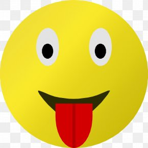 Tongue - Smiley Emoticon Tongue Clip Art PNG