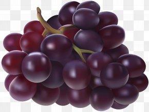 Grapes Transparent Image - Juice Grape Fruit Clip Art PNG