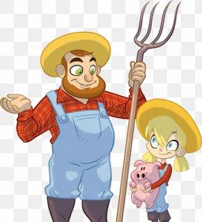 Cartoon Farm Crops - Clip Art Illustration Cartoon Farm Character PNG