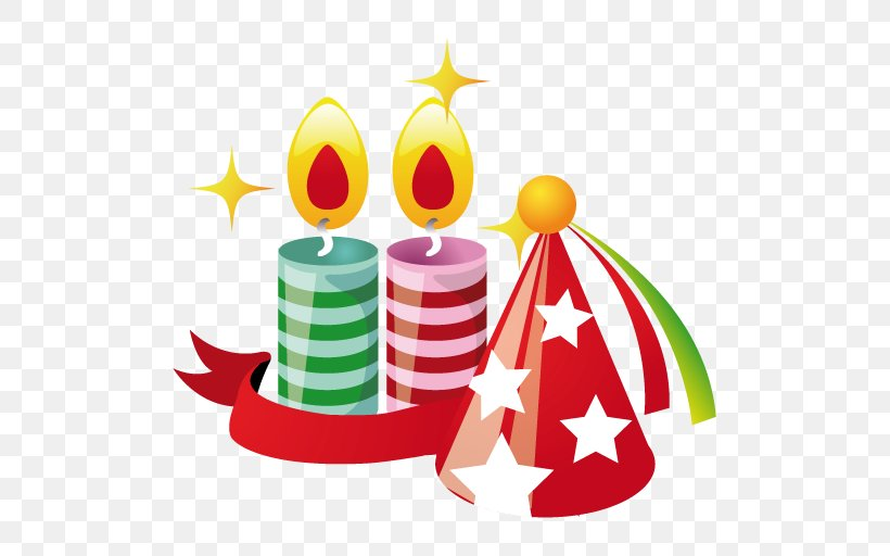 Party Hat Christmas ICO Icon, PNG, 512x512px, Party, Apple Icon Image Format, Christmas, Christmas Decoration, Christmas Ornament Download Free