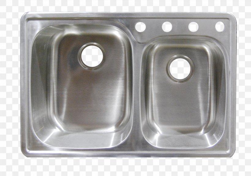 Kitchen Sink Stainless Steel Plumbing Fixtures Tap, PNG, 3114x2185px, Sink, American Standard Brands, Bathroom, Ceramic, Countertop Download Free