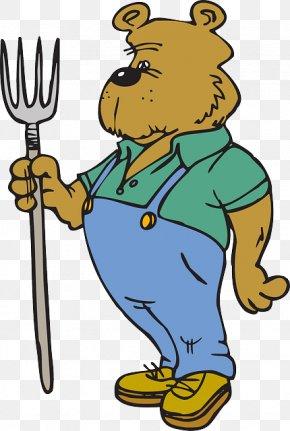 Bear - Bear Cartoon Clip Art PNG