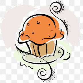 Poppyseed Muffin Cupcake Clip Art PNG