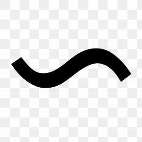 Curved Line - Wave Dash Tilde Unicode Shift JIS PNG