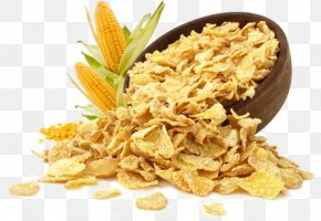 Breakfast - Corn Flakes Breakfast Cereal Frosted Flakes Organic Food PNG