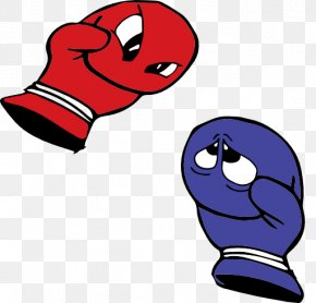 Boxing Glove Clipart - Boxing Glove Kickboxing Cartoon Clip Art PNG