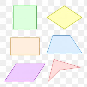 Geometric Shapes - Paper Triangle Area Rectangle PNG
