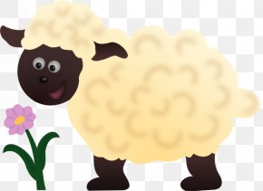 Cartoon Sheep - Sheep Lamb And Mutton Clip Art PNG