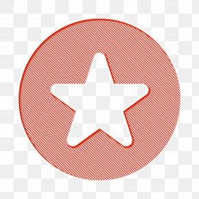 Star Orange - Bookmark Icon Circle Icon Favorite Icon PNG