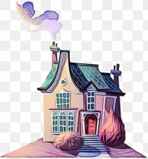 Roof Building - Cartoon House Architecture Home Facade PNG