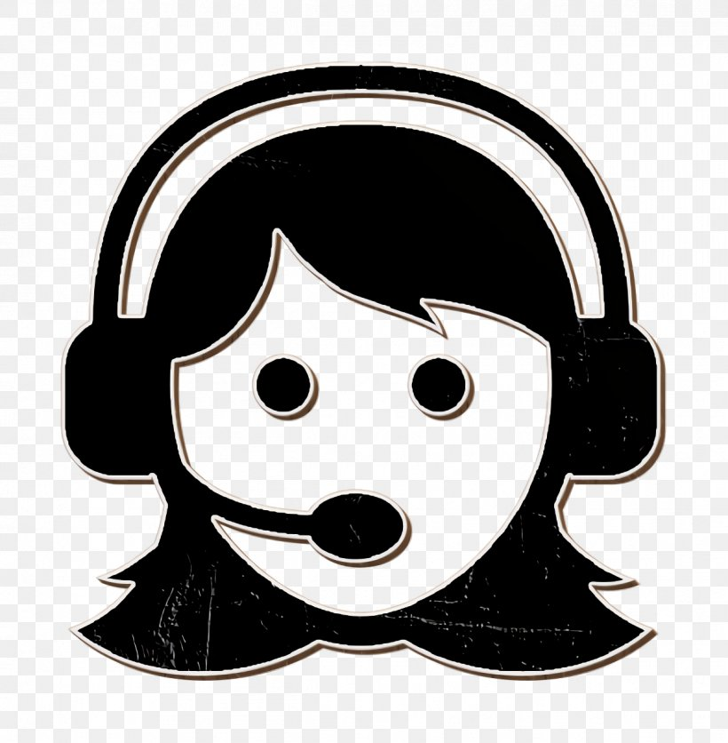 Woman With Headset Icon Phone Icon People Icon Png 1214x1238px Phone Icon Audio Equipment Cartoon Electronic