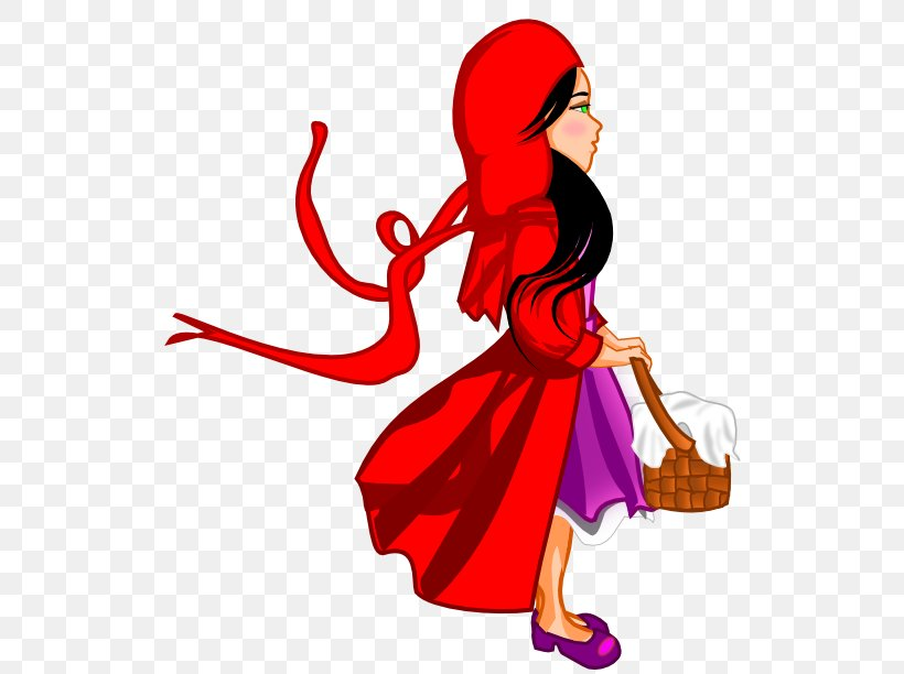 Big Bad Wolf Little Red Riding Hood Clip Art Png 555x612px
