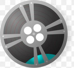Trial - Film Reel Cinema Clip Art PNG