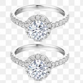Wedding Ring Diamond Pieces - Earring Wedding Ring Diamond Jewellery PNG