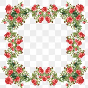 Border - Paper Picture Frames Rose Decorative Arts Scrapbooking PNG