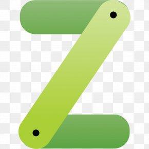 Green Letter Z - Z Letter Typeface PNG