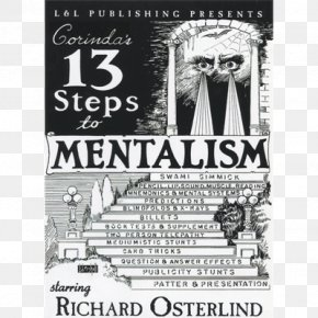 Playing Cards Museum - Thirteen Steps To Mentalism Swami Gimmick Magic Telepathy PNG