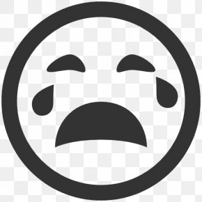 CRYING EMOTICONS - Emoticon Crying Icon PNG