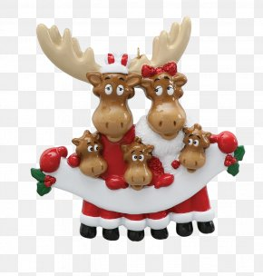 MOOSE - Christmas Ornament Mrs. Claus Christmas Decoration Santa Claus PNG
