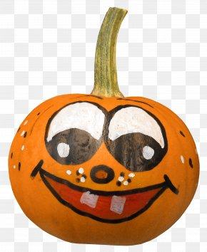 Halloween Pumpkin - Jack-o-lantern Halloween Pumpkin Clip Art PNG