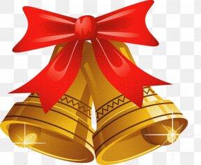 Christmas - Christmas Jingle Bell Clip Art PNG