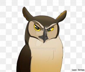 Great Horned Owl - Great Horned Owl Lesser Sooty Owl Greater Sooty Owl Beak PNG