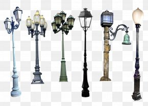 Street Light - Street Light Lamp Lantern Light Fixture PNG