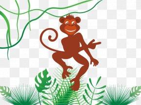 Vector Lively Monkey - Monkey Canh Thxe2n Zi Wei Dou Shu Bxednh Thxe2n Coq De Feu PNG