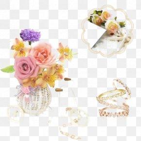 Flower Jewelry - Floral Design Flower Bouquet Cut Flowers Artificial Flower PNG
