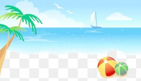 Summer Beach - Download Beach Icon PNG