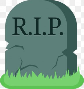 Grave Cliparts - Headstone Grave Cemetery Rest In Peace Clip Art PNG