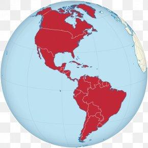 United States - United States Globe South America Europe World PNG