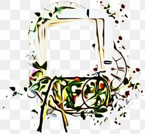 Line Art Flower - Flower Line Art PNG