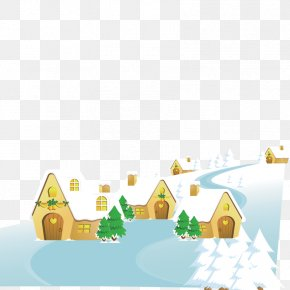 Snow Igloo Material - Snowflake Igloo PNG