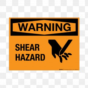 Warning - Dangerous Goods Hazardous Waste Warning Label Material PNG
