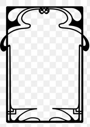 Nouveau Old Formerly Cute - Borders And Frames Art Nouveau Art Deco Clip Art PNG