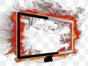 Computer Box - Computer Flame Download Computer File PNG