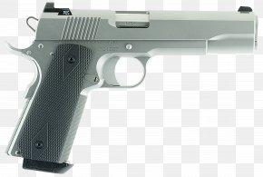 Handgun - Trigger Dan Wesson Firearms 10mm Auto Pistol PNG