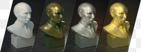 Printer - 3D Computer Graphics 3D Printing Bust Bronze Autodesk 3ds Max PNG