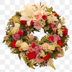 Flower - Floral Design Wreath Flower Bouquet Cut Flowers Artificial Flower PNG