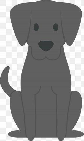 Gray Dog vector - Labrador Retriever Puppy Dog Breed Companion Dog PNG