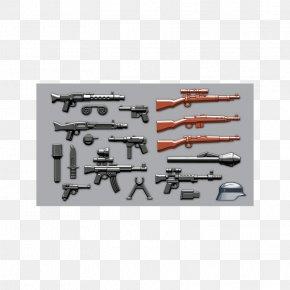 Weapon - Weapon BrickArms MP 40 Firearm Lego Minifigure PNG